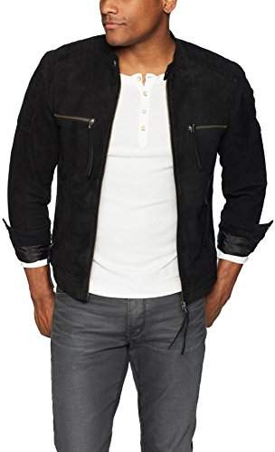 Blank NYC [BLANKNYC] Men's Suede Jacket Outerwear